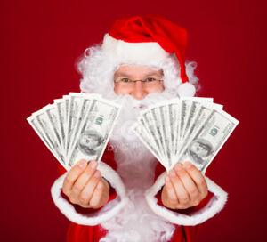 SANTA'S CASH$$$ FOR SCRAP CARS OLD AND NEW 204-955-3178