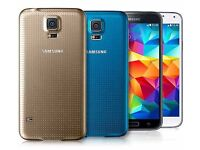 Samsung Galaxy S5 BRAND NEW IN BOX Available in BLACK and BLUE