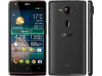 ACER LIQUID E3 SMARTPHONE 13MP CAMERA
