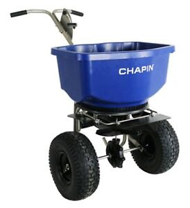Chapin 82400B - 100 rock salt spreader for sale.