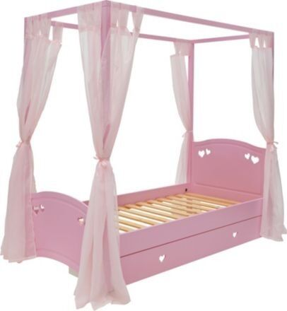 Four Poster Single Bed Frame Images