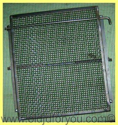John Deere A Ar And Ao Radiator Guard Assembly With Canvas Curtain - Aa431r