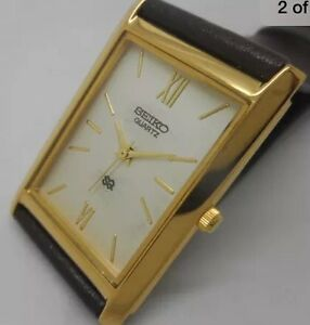 "Men's Ultra Slim Seiko Quartz Watch ""PROF REFURBISHED"""