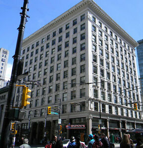 Granville street, furnished office with three private rooms