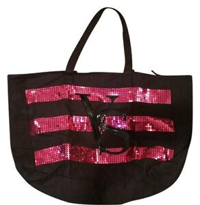 Victoria's Secret Pink Sequined Tote Beach Bag - LIMITED EDITION