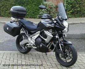 Kawasaki versys 650 2010 wanted