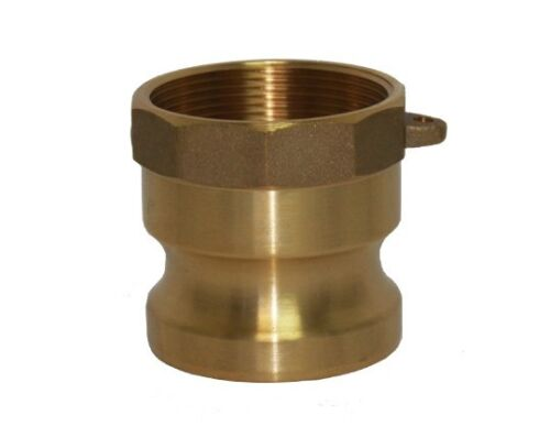 BRASS CAMLOCK FITTINGS - TYPE A - 6 INCH ADAPTER