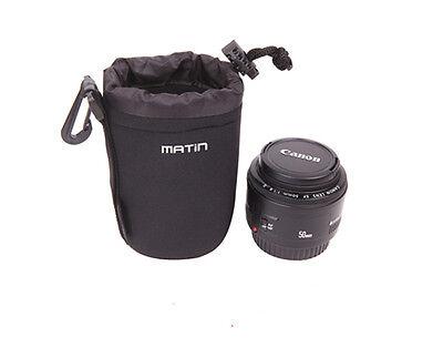 housse de protection pour objectif  Canon Nikon Sony taille L, H:18cm Ø10cm