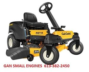 CUB CADET ZERO TURN RIDER, 0% financing for 3yr's