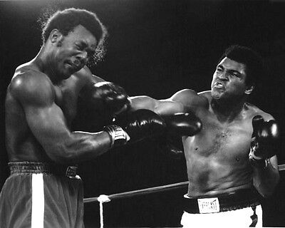 1974 Boxing Muhammad Ali   George Foreman 8X10 Photo Rumble In The Jungle Print