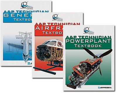 Jeppesen A&P Textbook Bundle FREE SHIPPING