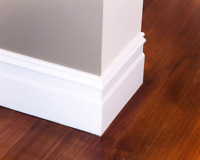 Baseboard Trim and Doors