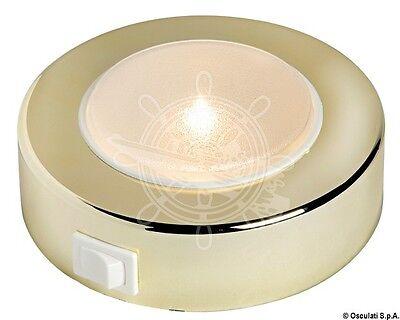 Batsystem Golden ABS External 10 LED SMD Sun Spotlight 8/30V 2.4W Opal Lens