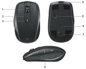 Logitech ANYWHERE 2S , wireless Mouse