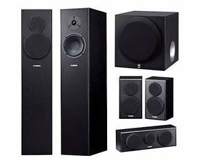 YAMAHA NS140F 5.1 HOME THEATER SPEAKER SYSTEM Chadstone Monash Area Preview