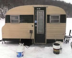Wanted cheap ice fishing trailer