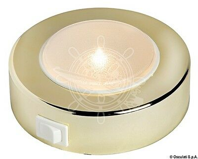 Batsystem Golden ABS External Sun Spotlight 10W 12V Halogen Bulb Opal Lens