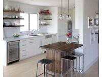 50% off all installation on all brand new fitted kitchens, free delivery