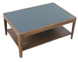 Hygena 1 Shelf Coffee Table - Walnut Effect