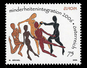 AUSTRIA-OSTERREICH-2006-EUROPA-CEPT-Young-People-Set-Stamp-MNH