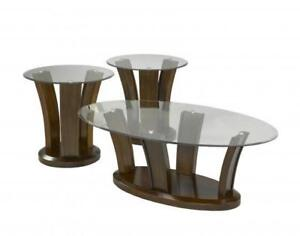 Simple Wooden Coffee Table Set Caledon (BR503)