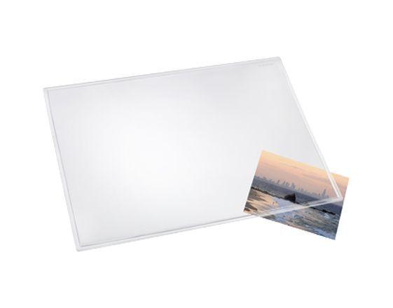 Läufer Schreibunterlage DURELLA Transparent Glasklar 700 x 500 mm