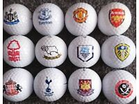 Golf Balls With Football Club Logos