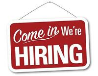 Wanted! Sales Person and Office General Help Wanted!