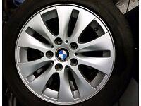 "16"" BMW 1 series 4x alloy wheels"