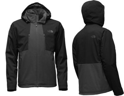 The North Face Jacket | Mens Apex Elevation Jacket | Black and Grey