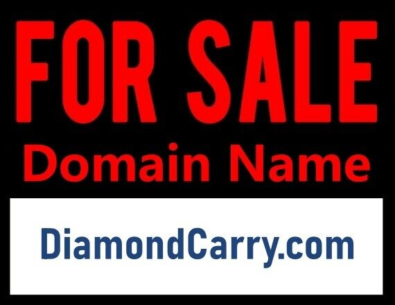 DiamondCarry .com / NR Domain Auction / Retail Jewelry Stores, Shops / Namesilo - $1.99