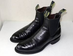 Black RM Williams size 7.5H Annerley Brisbane South West Preview