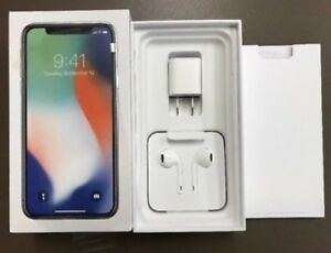 iPhone X :- Box + Accessories (NO iPhone).