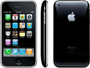 FACTORY UNLOCKED Apple iPhone 3GS - 8GB Black - Excellent Condition #1