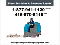 Do YOU Think You Can Fix Floor Cleaning Machines?