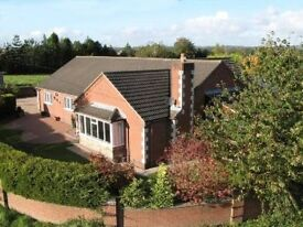 Country Bungalow , 3 bedrooms with large gardens and two conservatories.