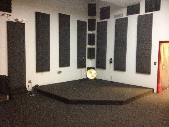 Sound Deadening Panels Used In Recording Studio
