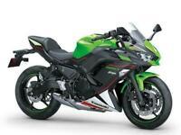 Kawasaki Ninja 650 - 2021 colours now available