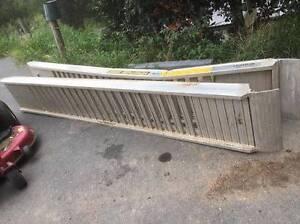 Aluminium Digger Bobcat Excavator ramps 4.5 ton Ferny Hills Brisbane North West Preview