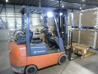 EXPERIENCED LIFT TRUCK OPERATOR WANTED