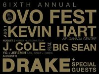 Drake ovo fest 2 day passes *hard tickets* Aug 2nd and 3rd
