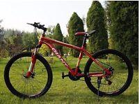 "Red 2016 Giant Atx Mountain bike ""NEW"" boxed 26""1.95 Medium Size"