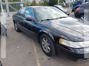 1999 Cadillac STS Black leather Sedan