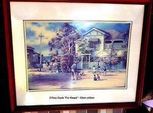 Large d'Arcy Doyle professionally framed prints Kenmore Brisbane North West Preview