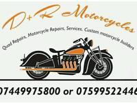 Motorcycle and quad mechanics
