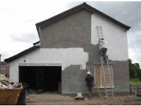 Exterior painting, wall coatings, damp proofing