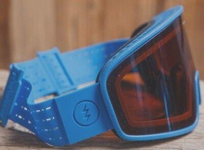 62e8b953a86 NEW Electric Electrolite Royal Blue Silver Mens ski snowboard goggles  Ret 140