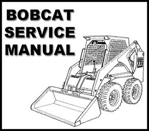 bobcat 600 600d 610 611 skid steer loader workshop service. Black Bedroom Furniture Sets. Home Design Ideas