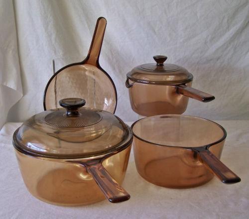 Brown Glass Cookware