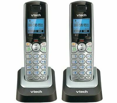 - Vtech DS6101 DECT 6.0 1.9GHz 2-Line Cordless Expansion Handset Phone 2-Pack NEW!
